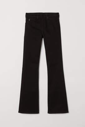 H&M Shaping Bootcut Regular Jeans - Black