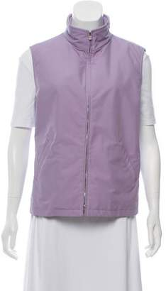Loro Piana Collared Zippered Vest