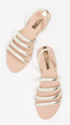 Kaanas Maceio 4-Strap Sandals