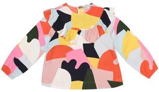 Stella McCartney Printed twill top