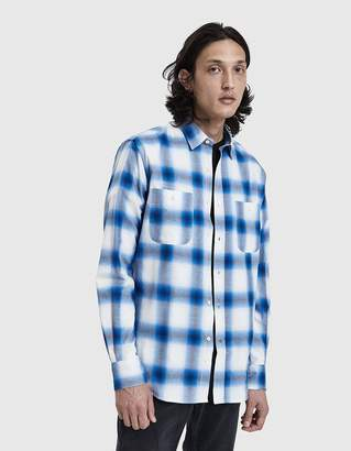 Gitman Brothers Chilean Plaid Button Up Shirt in Blue