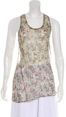 Stella McCartney Printed Floral Top