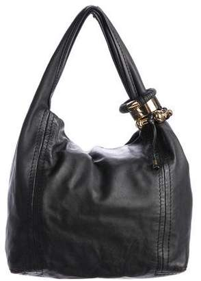 Jimmy Choo Leather Solar Bag