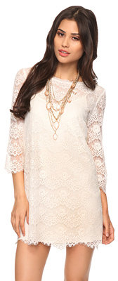 Forever 21 Chantilly Lace Dress