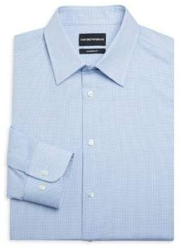 Emporio Armani Modern Fit Cotton Button-Down Shirt