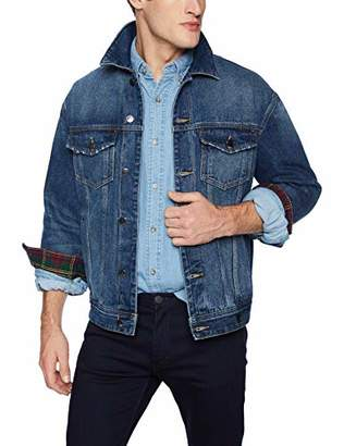 GUESS Men's Oversized Denim Jacket