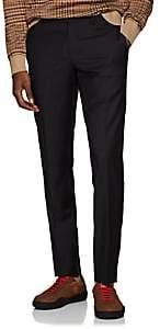Barneys New York Men's Yellnik Wool Slim Trousers - Brown