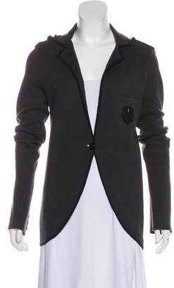 The Kooples Notched-Lapel Knit Cardigan
