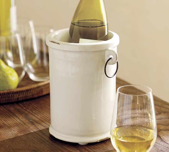 Pottery Barn Rhodes Party Bucket & Wine Cooler