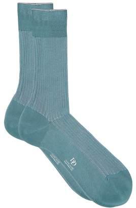 Dore Dore Shadow Stripe Ribbed Socks