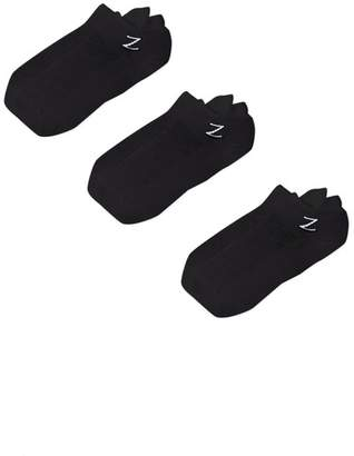Zella Z By Nylon Sport Liner Socks - Pack of 3