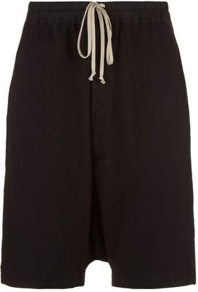 Rick Owens Drop Crotch Sweat Shorts