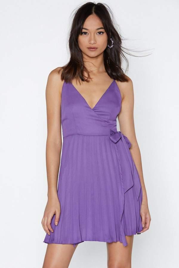 Pleats to Meet You Mini Dress
