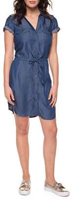 Dex Drawstring Waist Day Dress