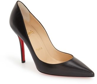 Christian Louboutin 'Apostrophy' Pointy Toe Pump $675 thestylecure.com