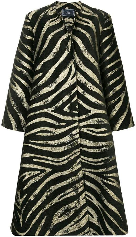 Taller Marmo zebra print coat