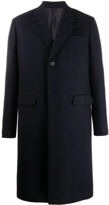 Prada single-breasted over coat