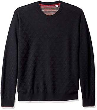 Robert Graham Men's burn Crew Kneck Sweater