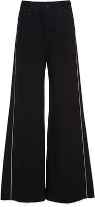 Nobody Denim High-Rise Wide-Leg Jeans Size: 25