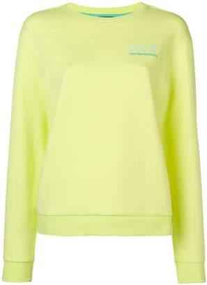 Emporio Armani Ea7 classic logo jersey sweater