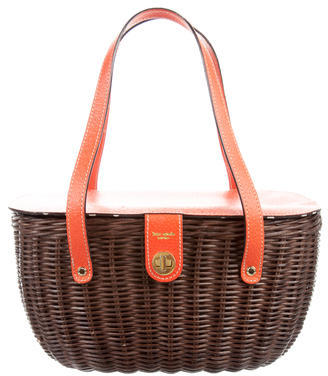 Kate Spade Kate Spade New York Wicker Basket Tote