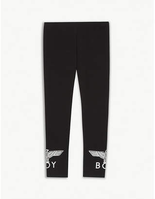 Boy London Logo stretch-cotton leggings 3-16 years
