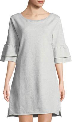 Sanctuary Flutter Me Please Sweatshirt Dress