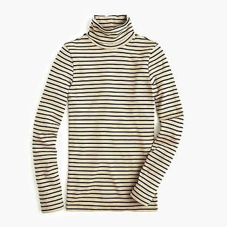 J.Crew Perfect-fit turtleneck in stripe