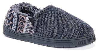 Muk Luks Christopher Faux Fur Lined Slipper