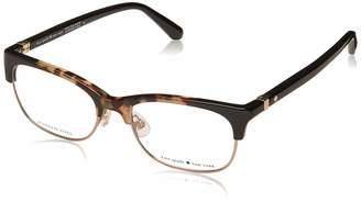 700ea3b197c4 Kate Spade new york Adali 086 Plastic Rectangle Eyeglasses 51mm