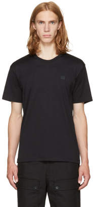 Acne Studios Black Nash Face T-Shirt