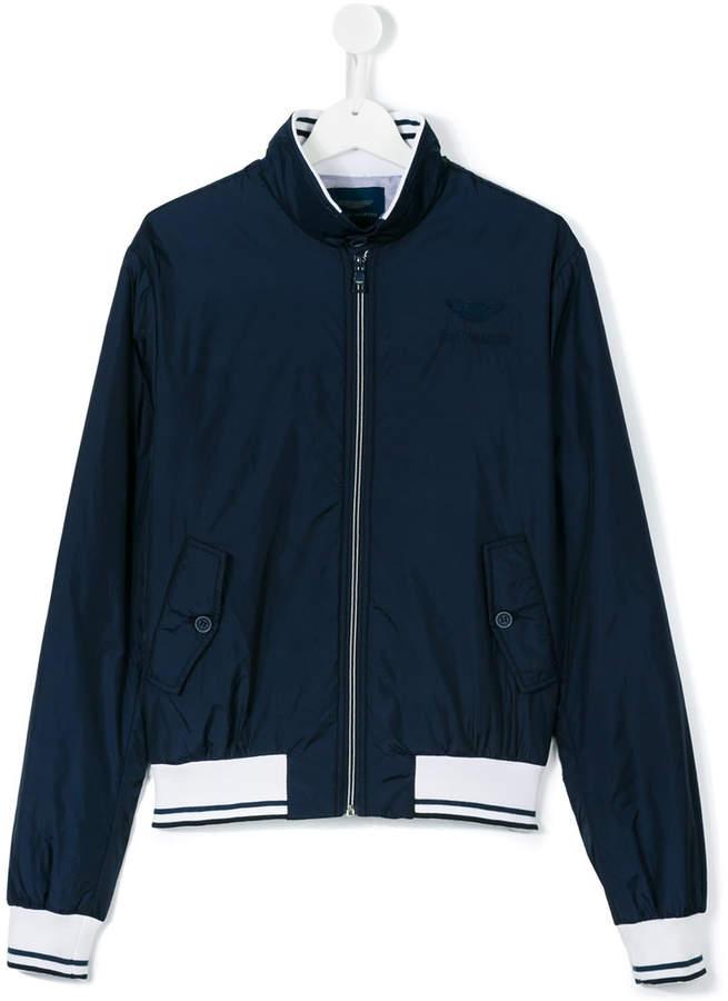 Aston Martin Kids teen zip-up jacket