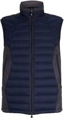 BOSS GREEN Quilted Funnel Neck Gilet