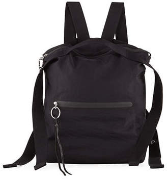Rebecca Minkoff Distressed Nylon Tote Backpack