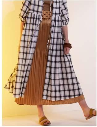 LAGUNAMOON (ラグナムーン) - LAGUNAMOON クリスタルプリーツシャインマキシスカート