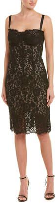 Dolce & Gabbana Silk-Blend Lace Midi Dress