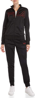 Fila Two-Piece Black Retro Track Suit