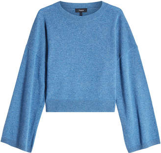 Theory Wide Sleeve Cashmere Pullover