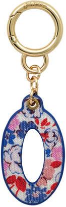 Cath Kidston Mews Ditsy Bag Charm/Key Ring Initial Charm O