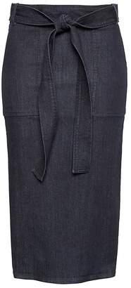 Banana Republic JAPAN ONLINE EXCLUSIVE Denim Pencil Skirt with Belt