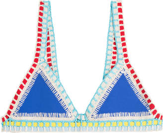Kiini Tuesday Crochet Trimmed Bikini Top
