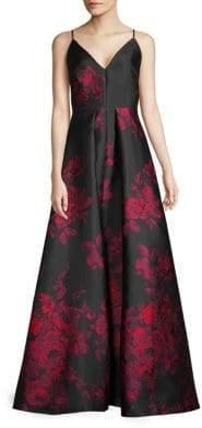 Calvin Klein Floral Ball Gown