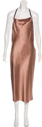Fleur Du Mal Silk Sleeveless Dress