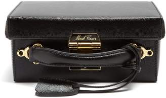 Mark Cross Grace small pebble-leather shoulder bag