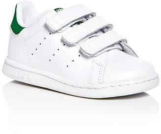 Adidas Unisex Stan Smith Velcro® Strap Sneakers - Walker, Toddler $40 thestylecure.com