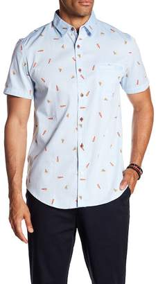 Sovereign Code Pismo Patterned Short Sleeve Regular Fit Shirt