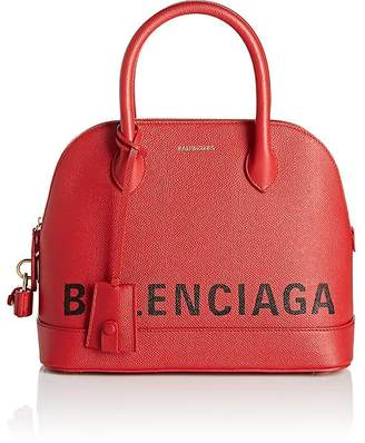 Balenciaga Women's Ville Leather Bowling Bag