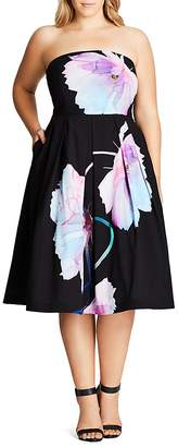 City Chic Pretty Bloom Dress $149 thestylecure.com