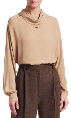 The Row Runa Silk Top