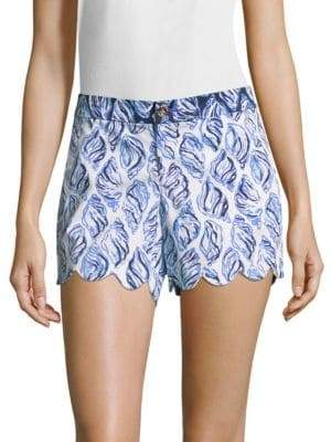 Lilly Pulitzer Buttercup-Printed Shorts